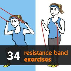 34 resistance band exercises that can be done anywhere