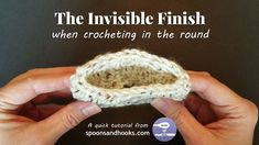 Quick Tutorial: The Invisible Finish