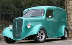 1937 Ford Panel Truck.