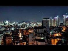 Seoul Office Sunset Timelapse