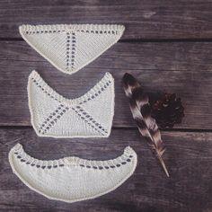 Shawls by @allidaniele | malabrigo Sock in Natural