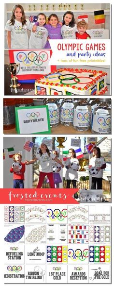 Fun Olympic Games for Kids and Party Ideas