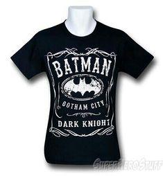 Batman tshirt.. Awesome.. Want it