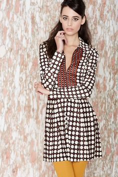 Vintage Dotting Against Me Dress | Shop What's New at Nasty Gal