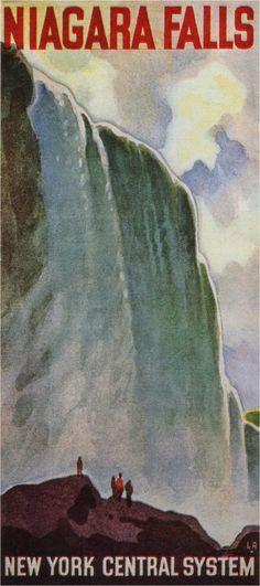 Leslie Ragan, Niagara Falls, 1934