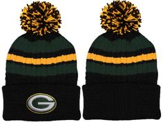 a92dda612eccc 2017 Winter NFL Fashion Beanie Sports Fans Knit hat Green Bay Packers  Shoes