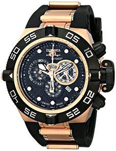 Invicta Men's 6575 Subaqua Noma IV Collection Chronograph Black Polyurethane Watch Invicta http://www.amazon.com/dp/B003UNX0GA/ref=cm_sw_r_pi_dp_wS1Kub18SHCR0