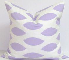 Purple PillowLavender20 inch Decorator Pillow by ElemenOPillows, $19.00