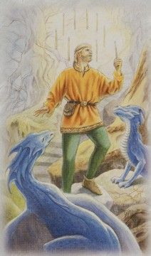 Nine Of Wands, The Nines, Self Talk, Self Confidence, Best Self, Tarot Cards, This Is Us, Dragons, Strong