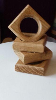 oak napkin rings