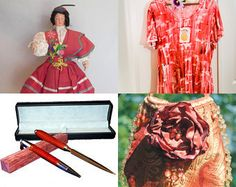 Treasury Of True Non-Faerie Gifts - - - Summer Red! by Patty andLittleGuy on Etsy--Pinned with TreasuryPin.com