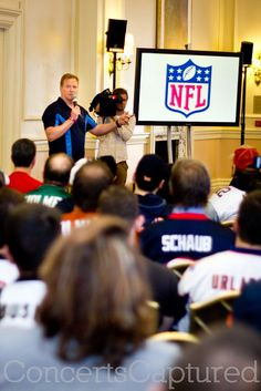 NFL Fan Forum with NFL Commissioner, Roger Goodell. Landmark Hotel, London, http://alcoholicshare.org/