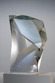 Han de Kluijver - Glass sculpture, 2013