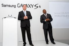 The new Samsung Galaxy S4 smartphone will in South Africa stores tomorrow at 10 a.m #galaxyS4