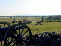 Gettysburg National Park & other Civil War historical sites