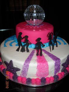 motown party ideas | Disco Cake Designs