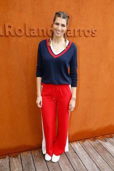 Pin for Later: Quand les Stars Se Rendent à Roland Garros Laury Thilleman
