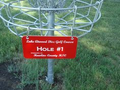 This is a great way to increase revenue for a course as well as promote local business. Hole sponsorships are common in disc golf, yet seldom placed on this location on a basket. Still pretty neat, and worth sharing!
