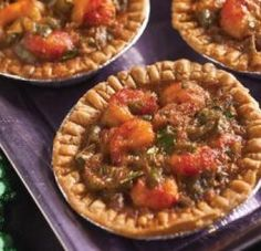 Louisiana Crawfish Pies recipe presented by South Louisiana Recipes & Young's Web Designs - a Lafayette Website Design Company