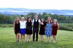 Here they are!!! Anna, Kaitlyn, Kate, Collin, Jen, Alex and Julia ~ our awesome interns this summer! Kate and Jen have already left for Cornell. The others return to school over the next 2 weeks. We'll sincerely miss everyone. Thank you, ALL! Photo by Picture  My Heart Photography Heart Photography, Educational Programs, Anna, Wellness, Relationship, Student, Couple Photos, School, Awesome