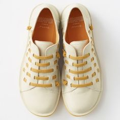 dfe34f3160cf Nendo creates Beetle shoe for Camper with laces slotted through the uppers  Fashion Bags