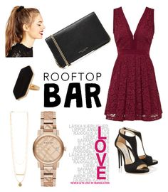 """summer date -rooftop bar"" by dilaraozel on Polyvore featuring Free People, Marc Jacobs, ASOS, Jaeger, Burberry, DateNight, relax, summerdate and rooftopbar"