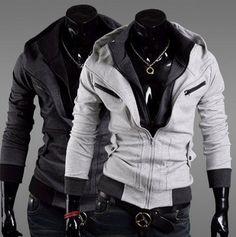 Prime Assassins Hoodie Cardigan Fashion ef8eebc79