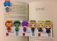 Hey, I found this really awesome Etsy listing at https://www.etsy.com/listing/215069813/magnetic-bookmarks-hero-assemblers
