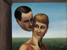 The Lovers, 1928 Rene Magritte