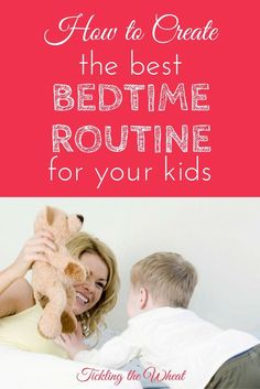 The Ultimate Pinterest Party, Week 114 Creating an intentional evening routine (for myself and my kids) has been such a game changer. We're in better moods throughout the day and our home feels more organized. These tips to create an ideal bedtime routine have made all the difference.