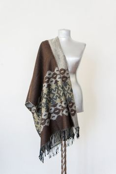 Scarf -  Tribal Ethnic Blanket Scarf