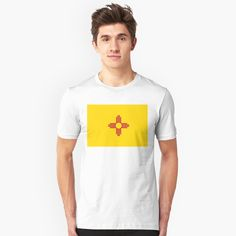 """""""New Mexico Patriotic State Flag"""" T-shirt by ArgosDesigns 