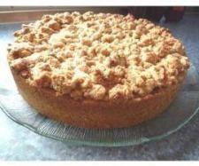 Rezept Apfelkuchen mit Sahneguss und Nussstreusel von Kitty_1 - Rezept der Kategorie Backen süß