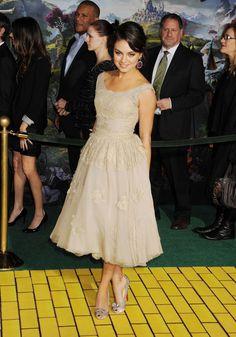 Mila Kunis' Style Evolution - Mila Kunis in Dolce, 2013