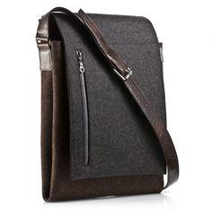 German felt messenger bag by Graf & Lantz
