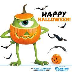 Photo of Monsters university Halloween for fans of Monsters, Inc. Halloween Photos, Disney Halloween, Scary Halloween, Fall Halloween, Happy Halloween, Halloween Ideas, Disney Pins, Disney Love, Disney Magic