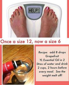 Weight Loss with Young Living Essential Oils