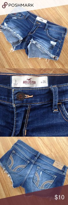 Hollister Shorts Good condition Hollister Shorts Jean Shorts