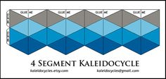 Picture of Print out the kaleidocycle design.