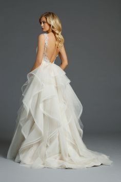 Alvina Valenta Fall 2014 Bridal Collection, some really gorgeous gowns on this site! Alvina Valenta Wedding Dresses, 2015 Wedding Dresses, Bridal Dresses, Wedding Gowns, Bridesmaid Dresses, Backless Wedding, Tulle Wedding, Prom Dresses, The Bride