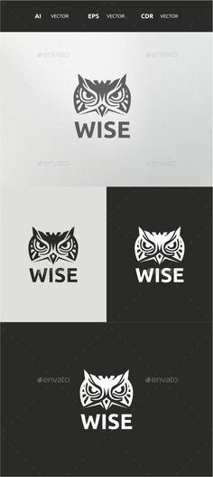 Wise — Vector EPS #clothing #apparel • Available here → https://graphicriver.net/item/wise/9768343?ref=pxcr