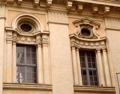 Borromini; Windows of the Chapel of Collegio di Propaganda Fide, Rome, begun 1647.
