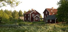 Typical red cottages in Småland, Southern Sweden (Photo: John Kimmich-Javier)