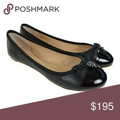 Tory Burch Chelsea Ballet Flat I DO NOT TRADE. PLEASE DO NOT ASK  Chelsea ballet flat with cap toe Minor scuffs Box included Tory Burch Shoes Flats & Loafers
