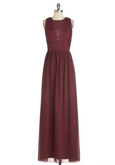 Elegance Again Dress by Chi Chi London - Long, Woven, Red, Solid, Special Occasion, Maxi, Sleeveless, Crochet, Sheer, Crew