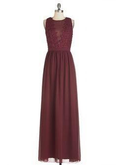 Elegance Again Dress. #red #modcloth