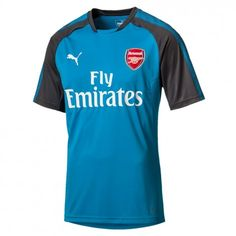 Puma Arsenal trainingsshirt sponsor junior blauw De Wit Schijndel