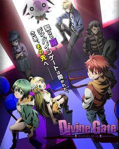 Vídeo promocional, reparto y equipo del Anime Divine Gate que se estrenará en Enero del 2016.