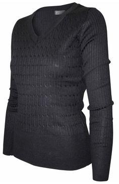 Long Sleeve V-Neck Pullover Cardigan