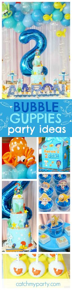 ~ Birthday Party Supplies Favors Toys Ocean Sea MERMAID WISHES BUBBLE TUBES 4